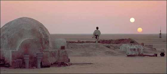 star wars binary sunset